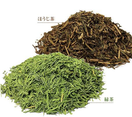 緑茶とほうじ茶の絶妙ブレンド。