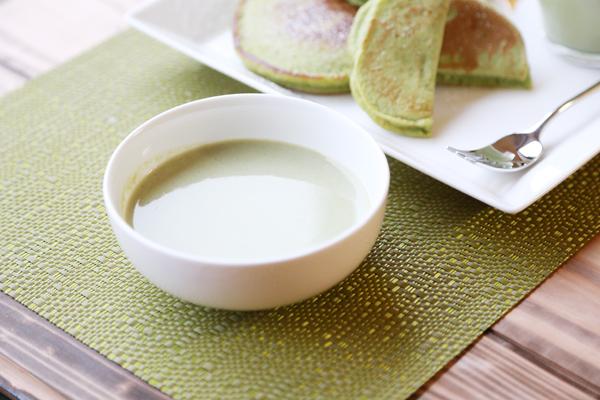 生青汁枝豆スープ