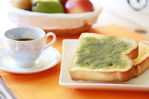 生青汁トースト