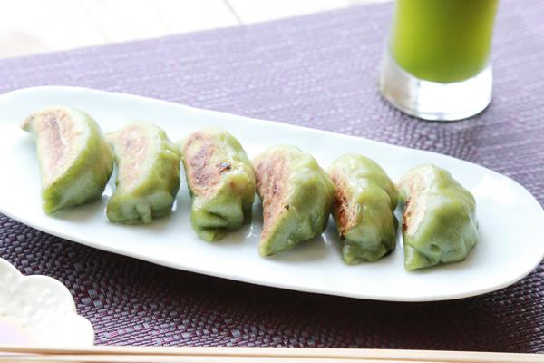 生青汁餃子64