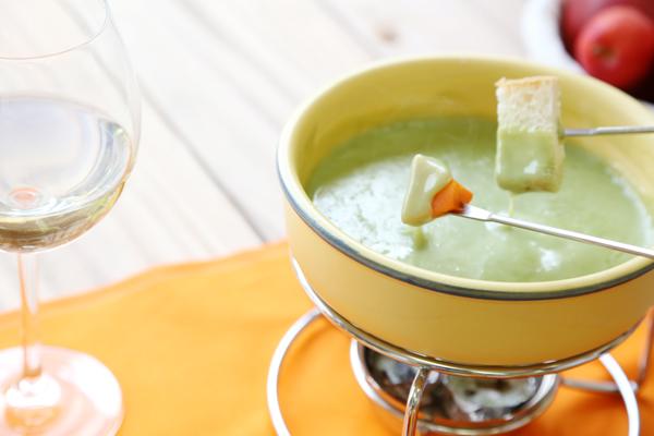 生青汁チーズフォンデュ