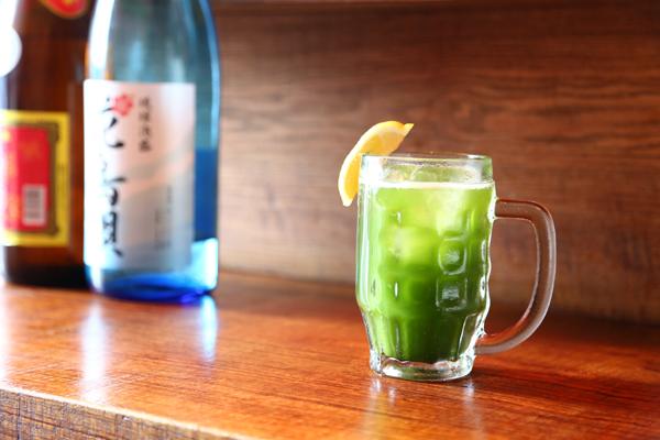 生青汁ハイ1