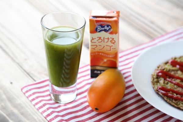 生青汁とろけるマンゴー