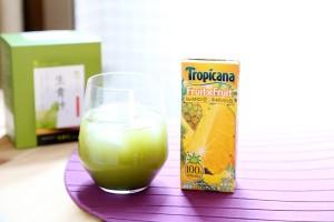 生青汁パイナップル1