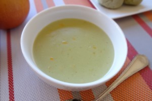 生青汁コーンスープ
