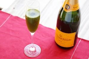 生青汁シャンパン