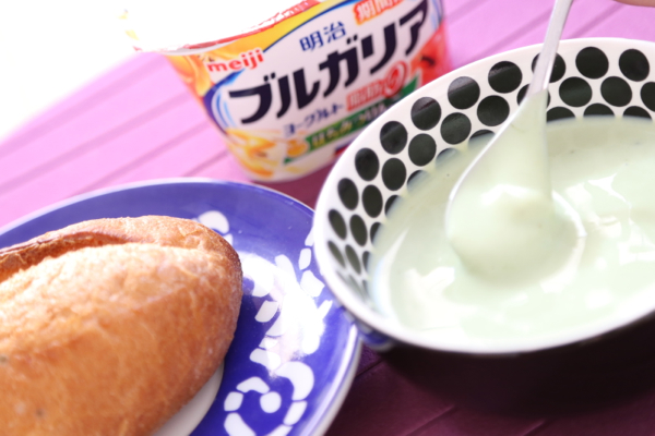 生青汁ハチミツりんごヨーグルト