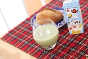 生青汁バニラアイス