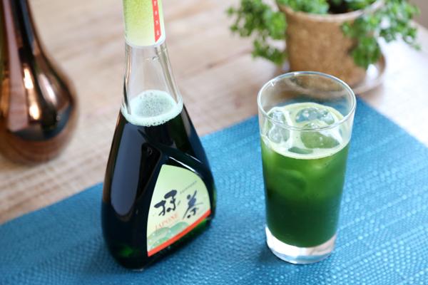 生青汁抹茶ソーダ