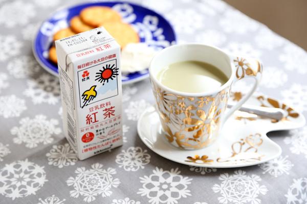 生青汁豆乳紅茶味