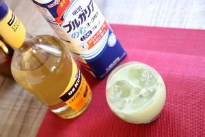 青汁バナナヨーグルト