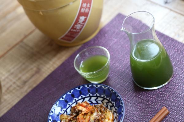 生青汁芋焼酎