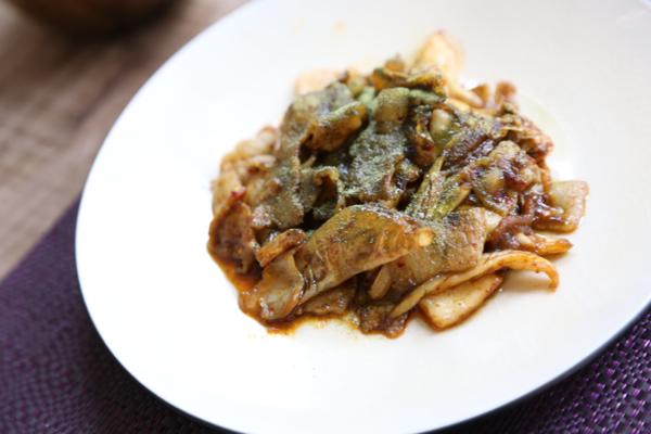 生青汁豚キムチ