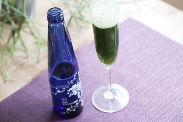 生青汁日本酒スパークリング1