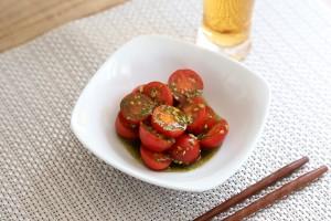 青汁トマトナムル